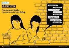 KAMPANYE SOSIAL ( Bahaya Gadget terhadap Prilaku sosial Anak) | Kreavi.com