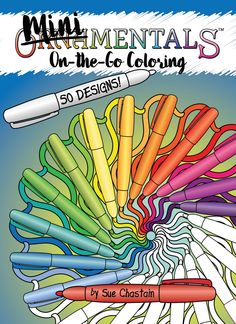 MiniMENTALs On-the-Go Coloring Book