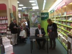 Christy O'Connor book signing in Dundrum - Nov 2012