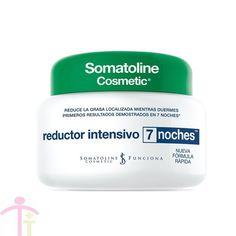Somatoline Cosmetic Reductor Intensivo 7 noches es una crema cosmética que aprovecha la especial receptividad de la piel durante las horas nocturnas ayudando a combatir las acumulaciones de adiposidad localizada. http://tfarmacia.com/somatoline-cosmetic-tto-7-noches-reductor-intensivo-noche-450-ml.html