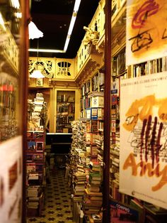 "Old bookstore in Barcelona--for anyone who has read ""Shadow of the Wind."""