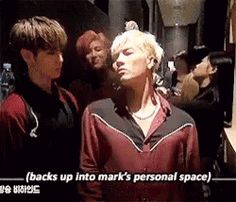 Mark doesn't even look phased by it....this probably happens every day ~ Windy