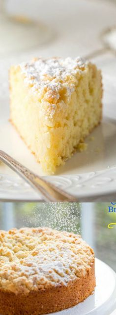 This Lemon Crumble Breakfast Cake from Saving Room for Dessert is loaded with bright lemon flavor! The moist tender cake is super easy to make and topped with the sweetest crumble topping! Lemon Desserts, Lemon Recipes, Just Desserts, Baking Recipes, Delicious Desserts, Cake Recipes, Dessert Recipes, Yummy Food, Breakfast Cake