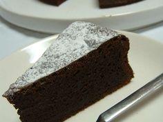 定番*ガトーショコラの画像 Baking Recipes, Cake Recipes, Sweet Cakes, Deserts, Sweets, Bread, Chocolate, Cooking, Foods