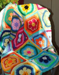 Blanket on chair | Flickr - Photo Sharing!