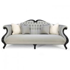 Shop for Christopher Guy Sofa, and other Living Room Sofas at Noel Furniture in Houston, TX. Magnificent cabriole camel-back sofa of truly outstanding beauty. Living Furniture, Living Room Sofa, Sofa Furniture, Sofa Chair, Sofa Set, Shabby Chic Furniture, Furniture Makeover, Luxury Furniture, Dining Room