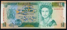 Belize Dollar   dollar 1990 front