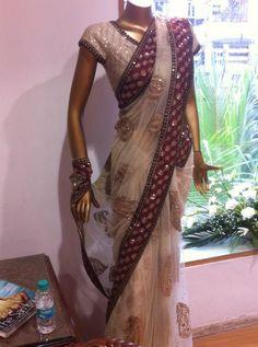 Gorgeous #Saree by Ritu Kumar http://www.ritukumar.com/country-selector.php