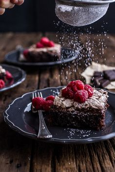 delta-breezes:  Chocolate Meringue Texas Sheet Cake | Half Baked Harvest on We Heart It.