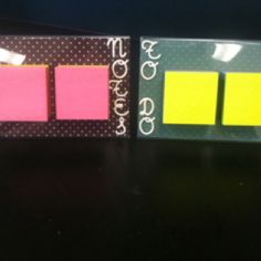 Post-it note holder