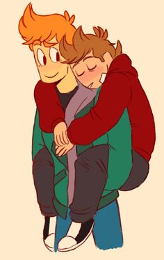 The good ol days when Todd wasn't trying to kill everyone< is that what we're calling the younger Tord now