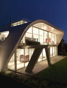 Fachada-de-Casa-Futurista