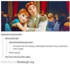 I don't agree but this was too funny not to pin! #frozen
