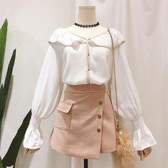 Kawaii Fashion, Cute Fashion, Look Fashion, Fashion Design, Fashion Trends, Fashion Vintage, Cheap Fashion, 70s Fashion, Trendy Fashion