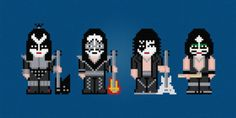I'm with the Band: Rock Inspired Cross Stitch Patterns: Rock n' Roll All Night