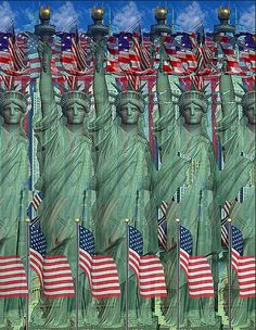 Fun Statue of Liberty Optical Illusion - http://www.moillusions.com/fun-statue-liberty-optical-illusion/
