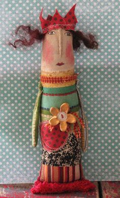 Jane Foster Make your own Angel Fabric Doll Handmade XMAS STOCKING FILLER