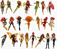 The Comic Book Hero: Jean Grey's Phoenix costume history