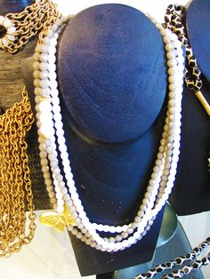 A statement-making necklace from Aurum Collections. #fashion