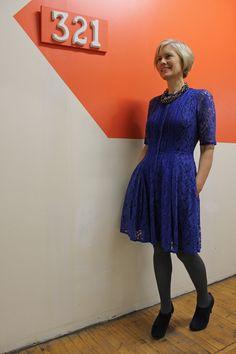 cobalt blue lace--blue hue wonderland
