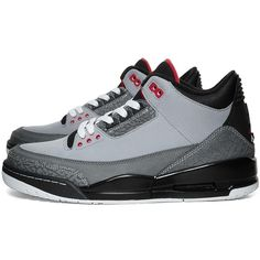28350df4 Nike Footwear Nike Air Jordan III Retro - Stealth ($170) ❤ liked on Polyvore
