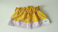 Gingham Purple- Flowers Mustard- Girls-BabyGirl- Birthday-Holiday-Wedding-Special Occasion