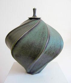 Jim Connell, Carved lidded Jar