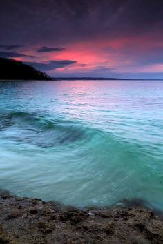 Turquoise Water, Jervis Bay Sunset beach, Australia Best Landscape Photography, Sunrise Photography, Travel Photography, Visit Australia, Australia Travel, Sunset Pictures, Cool Pictures, Australian Beach, Sunset Wallpaper