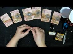 Elegant ATCs, video is brilliantly done.  Very impressive.