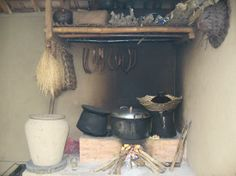 """Paon - Balinese kitchen. This is from a review of Paon Cooking Class - """"a holistic cooking school in a Balinese home set in a traditional village"""" - Laplapan, Ubud. #cooking #kitchens #Bali #Indonesia"""