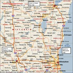 Wisconsin Cities Alphabetical Alphabetically Cities Map Of - Map of wisconsin with cities