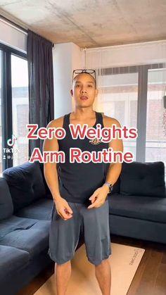Fitness Workout For Women, Sport Fitness, Fitness Workouts, Easy Workouts, Fitness Motivation, Wall Workout, Gym Workout Videos, Arm Workout For Beginners, Senior Fitness