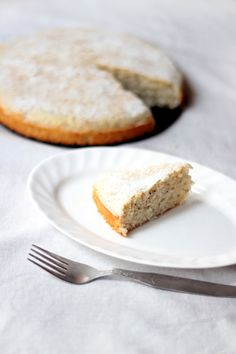 White Coconut Cake