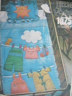 See Sally Sew-Patterns For Less - Crib Quilt Quilt Patterns, Sewing Patterns, Quilted Pillow Shams, Baby Room Decor, Pattern Fashion, Sally, Cribs, Baby Gifts, Quilting