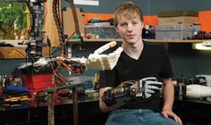 Teen Launches GoFundMe Campaign to 3D Print Prosthetic Arms You Can Control with Your Brain http://3dprint.com/38355/teen-3d-prints-prosthetic-arm/