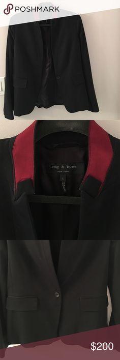 Rag & Bone blazer Rag & Bone blazer.  Size 6. Lined. rag & bone Jackets & Coats Blazers