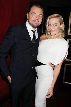 Leonardo DiCaprio and Margot Robbie.