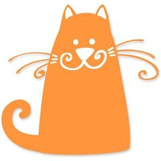 Silhouette Design Store - View Design #13465: smile cat