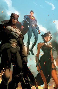 Dc Comics Superheroes, Dc Comics Characters, Dc Comics Art, Marvel Dc Comics, Comic Books Art, Comic Art, Action Comics, Comic Villains, Univers Dc