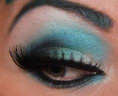 Step-by-Step: Teal Darling with Sugarpill   Makeup Geek