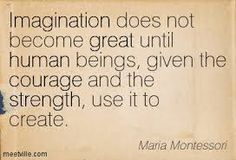 A great post explaining the importance Imagination in Montessori, as well as modifying/mixing learning methods to cater to your child's individual needs.