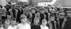 The men and boys of Inis Meáin, aran islands County Galway