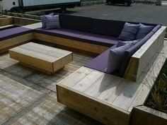 Afbeeldingsresultaat voor lounge hout