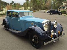 1935 Bentley 3.5 Liter by Freestone & Webb