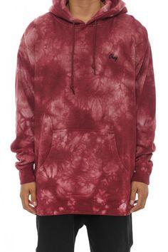 Haight Pullover Hood Burgundy