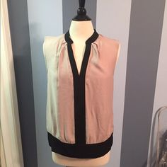 Calvin Klein sleeveless blouse EUC, perfect from office to a night out! Super soft too! Calvin Klein Tops Blouses