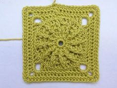"Advent Calendar * December 11, 2012 * Granny Square ""Maya"""