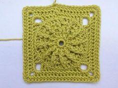 "How to Crochet * Granny Square ""Springtime"" - YouTube"