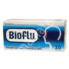 Bioflu, 16 comprimate, Biofarm[5944704004030] Personal Care, Pharmacy, Self Care, Personal Hygiene