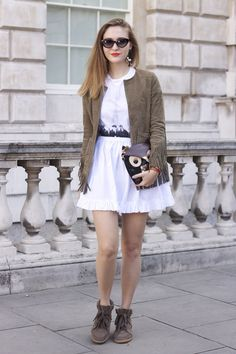 The Beatles dress, Isabel Marant sneakers. Can't be better